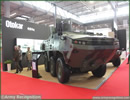 At MSPO 2013, International Defense Exhibition in Poland, Celebrating its 50th anniversary, Otokar, is exhibiting 4x4 armoured tactical vehicle COBRA and ARMA 6x6 at MSPO 2013.