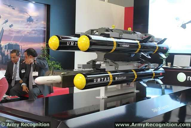 Another unique missile is near the end of its development. TAM - LR is a Long Range Antitank Missile with 8 km range homing IIR Seeker with RF Data-Link and with Tandem - High Explosive Warhead also Laser Seeker option is available. The missile has LOBL, LOAL and LO-Update capabilities.