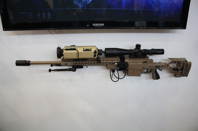 The new HISS-XLR clip-on thermal weapon sight allows snipers to detect and recognise man-size targets in excess of 2,000m, an increase in engagement range of more than 25% compared to previous models. Fully tested on weapons up to and including .50 caliber, the HISS-XLR includes a built-in ballistics mode that can give an instantaneous target solution when integrated with laser rangefinder and ballistics computer. The HISS-XLR includes an integrated DMC for azimuth information, can be remotely operated with the stock-mountable control pendant, and its high definition display provides cleaner text and symbology while allowing the use of day scopes of up to 25x without image distortion.