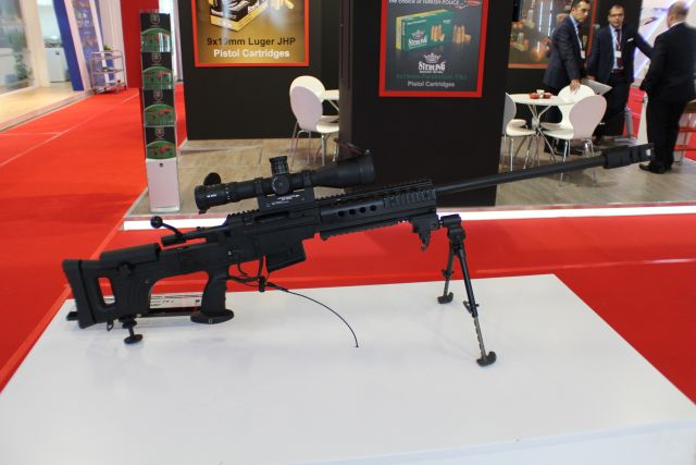 Produced to meet Turkish Armed Forces requirements, the MKE's Bora-12 (JNG-90) sniper rifle is currently being offered for export and actually showcased at MSPO 2014 International Defence Industry Exhibition in Kielce, Poland.