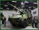Once again, MSPO demonstrates the close relationship of the Belgian and Polish industries, thanks to WZM and its well-known Wolf Fire Support Vehicle which unifies the Patria AMV chassis and the CMI CT-CV 105 mm turret.