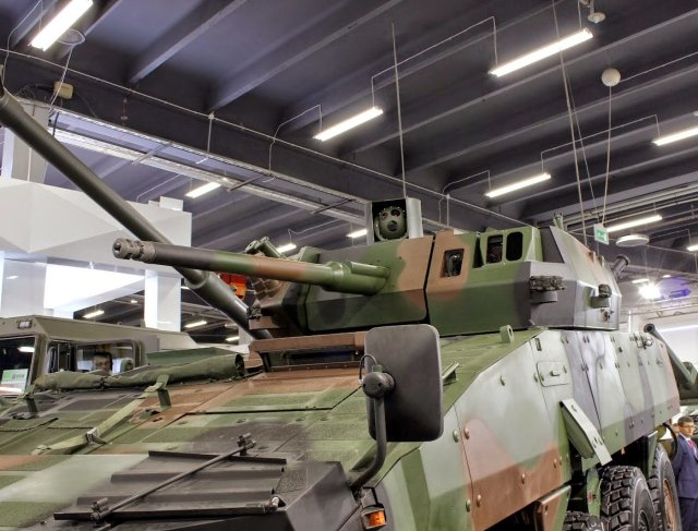 MSPO 2015 Selex ES evaluates Polish partner to produce EO systems for the ZSSW 30 turret 640 001