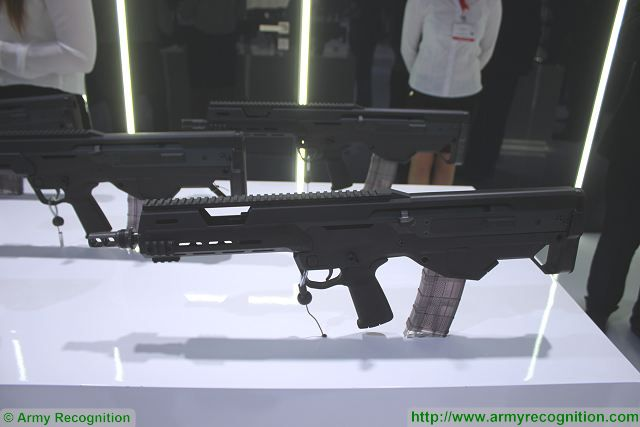 The Polish Company Radom manufacturer of firearms which is now a subdivision of PGZ (Polska Grupa Zbrojeniowa - Polish Armaments Group) presents its latest generation of assault rifle MSBS with conventional folding or telescopic stock and bullpup variant at MSPO 2015, the International Defense Exhibition which takes place in Kielce, Poland.