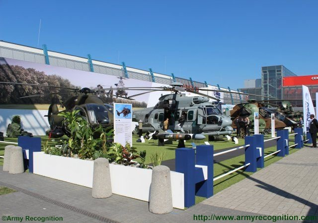MSPO 2015 Airbus Helicopters highlights comprehensive range of military rotorcraft in Poland 640 001