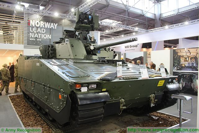New upgraded CV90 Norway army MSPO 2015 defense exhibition Kielce Poland 640 001