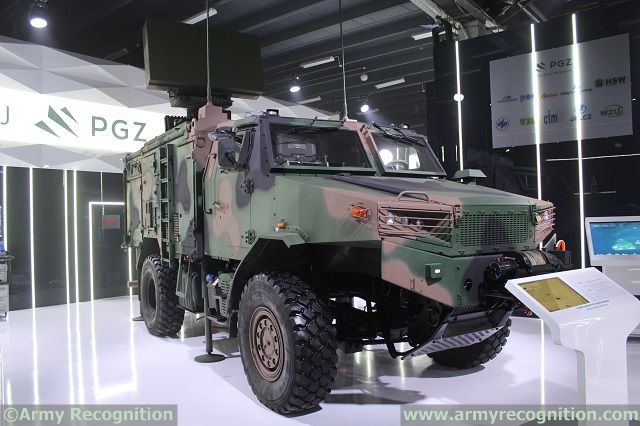 SOLA VSHORAD Radar System MSPO 2015 defense exhibition Kielce Poland 640 002