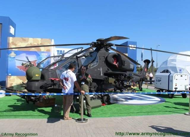 TAI 129 ATAK combat helicopter achieves its Poland roadshow MSPO 2015 640 001