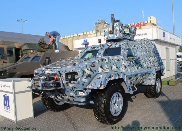 Two new variants of Lacenaire s Oncilla 4x4 armored personnel carrier make debuts at MSPO 2015 640 001