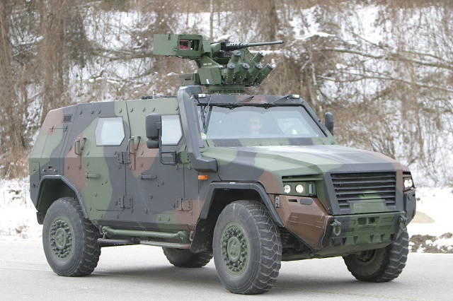 Rheinmetall presents the Pegaz version of the AMPV 001