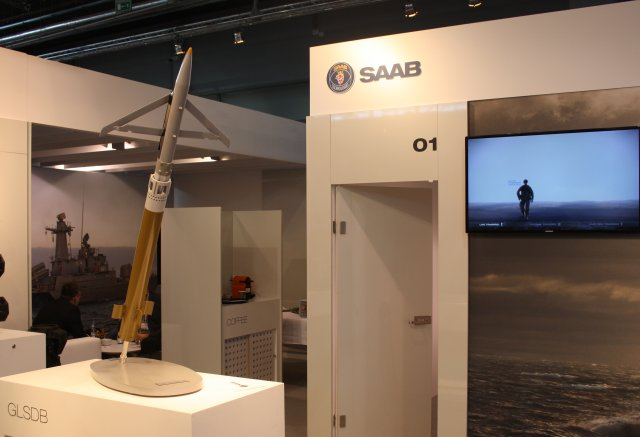 Saab showcases GLSDB Ground-Launched Small Diameter Bomb at MSPO 2016 640 001