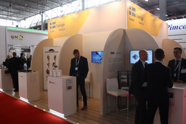 Team Sweden Swedish Defence industry companies at MSPO 2016 640 002
