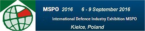 MSPO 2016 exhibitors visitors news information International Defence Industry Exhibition Kielce Poland