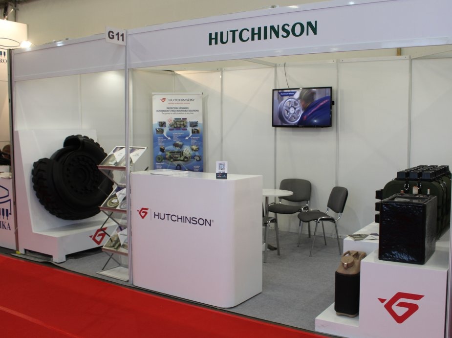 Hutchinson promotes its runflat mobility systems at MSPO 2017 925 001