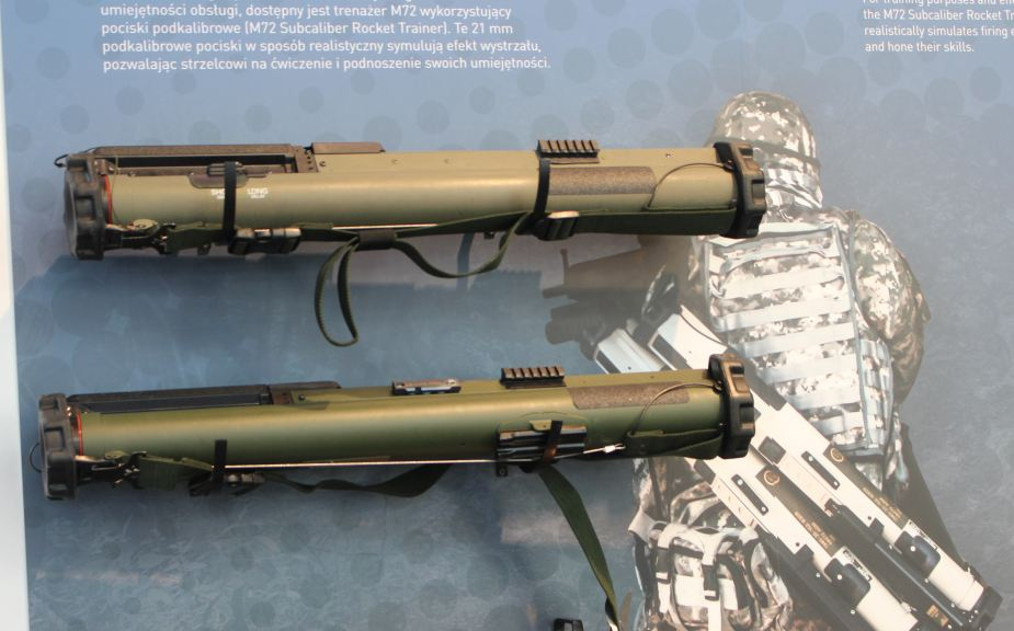 MSPO 2017 Nammo promotes its M72 LAW for Polish Army 925 001
