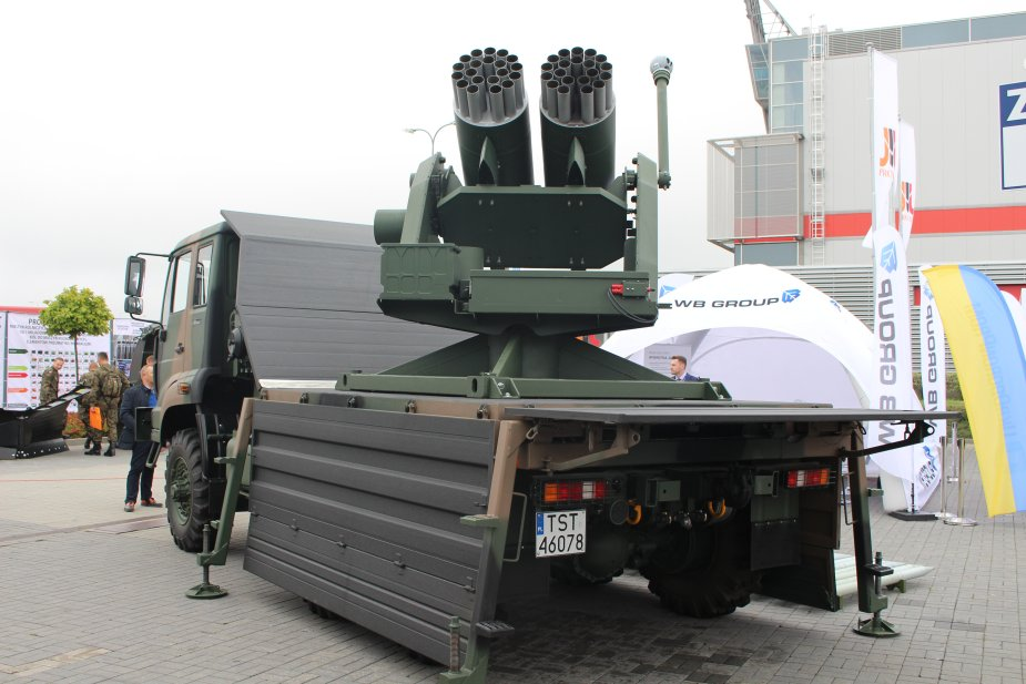 WB Group unveils its ZRN 01 Missile System STOKROTKA DAISY at MSPO 2017 925 001