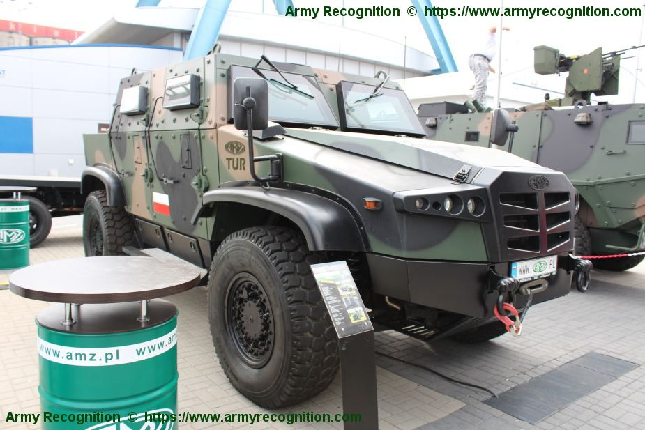 TUR V 4x4 multi purpose armored vehicle from Polish Company AMZ 925 0001