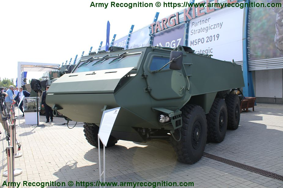 Polish Company Rosomak new concept of 6x6 APC armored personnel carrier 925 001