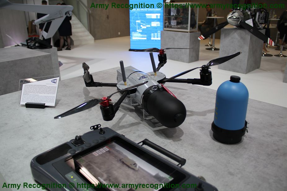 Polish Company WZL 2 presents Dragonfly UAV able to destroy armored targets MSPO 2019 925 001