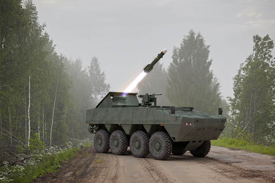 MBDA presents new concept of mobile tank destroyer equipped with Brimstone missiles MSPO 2020 925 003
