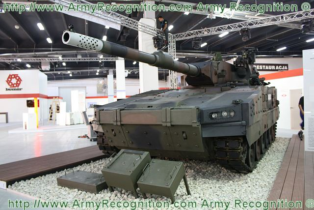 Anders 120mm Light Tank Expeditionary technical data sheet ...