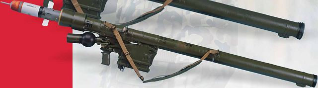 GROM MANPADS man-portable air defense missile system technical data sheet specifications description information pictures photos images video identification intelligence Poland Polish army industry military technology
