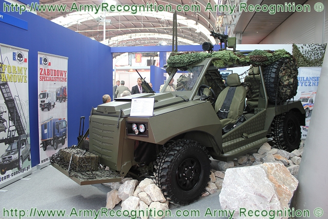 In June 2012, the Polish Ministry of Defense has announced it is inviting offers from manufacturers to supply the Polish armed forces with 118 Light Strike Vehicles (LSVs). At MSPO 2012, the International Defence Industry Exhibition, the Polish Company Teal Concept Special Buildings has unveiled its new LSV Light Strike Vehicle LPU-1.