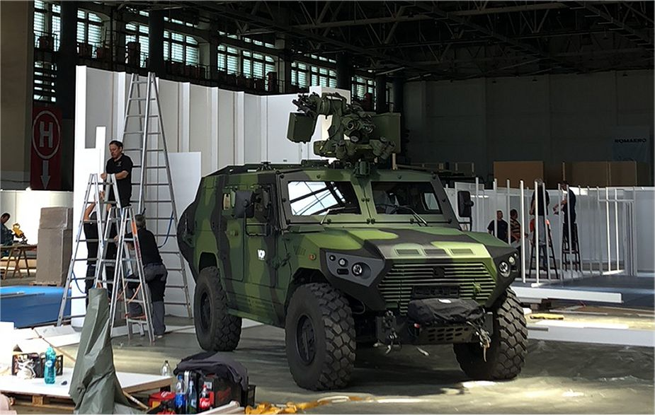 BSDA 2018 NIMR from UAE will present Ajban 440A tactical armored vehicle 925 001