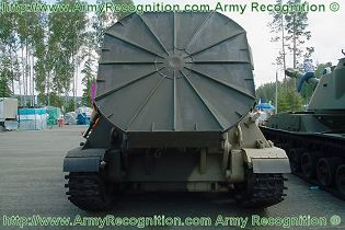 2S4 Tyulpan 240mm self-propelled mortar carrier data sheet specifications information description pictures photos images intelligence identification intelligence Russia Russian army defence industry military technology tracked armoured vehicle