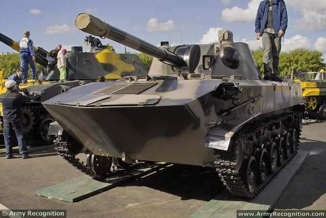 2S9 Nona-S SO-120 120mm self-propelled mortar carrier system technical data sheet specifications information description pictures photos images video intelligence identification Russia Russian Military army defence industry military technology equipment