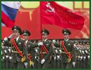 More than 100 military vehicles and 20,000 soldiers at the military parade dedicated to the 66th anniversary of the Soviet victory in the 1941-45 Great Patriotic War against Nazi Germany, which will be held May 09, 2011 at 10:00 AM local time in Moscow, Russia.
