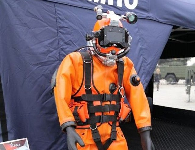 Army 2016 KAMPO JSC presents new SV I diving equipment 640 001