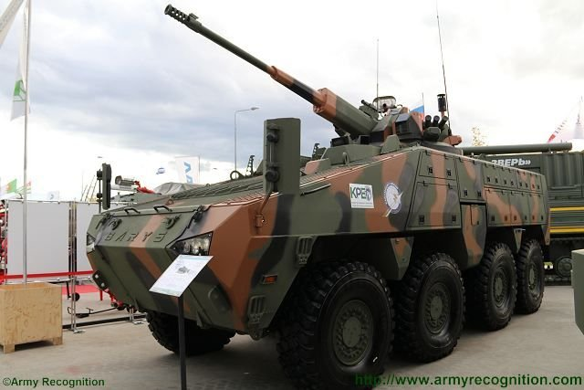 Barys unveiled at Army 2016 001