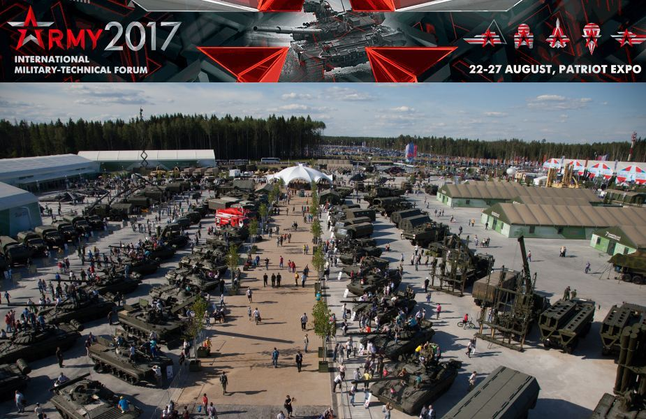 ARMY-2017 International military and technical forum  Russia pictures Web TV Television video International defense exhibition of arms military equipment ammunition Moscow Russia defense industry military technology