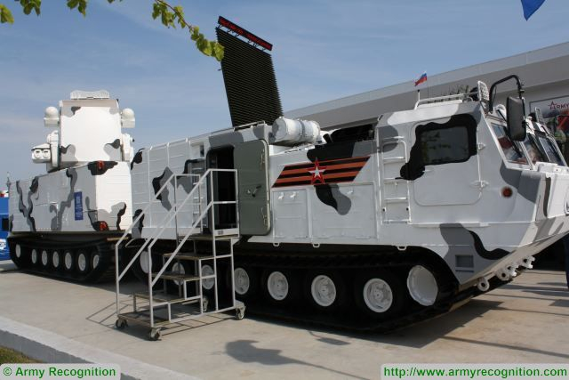 At Army 2017, JSC Kupol Izhevsk Electromechanical Plant (IEMZ Kupol) has presented a prototype of the Tor-M2DT SAM system developed to operate in Arctic conditions, Zvezda TV channel writes.
