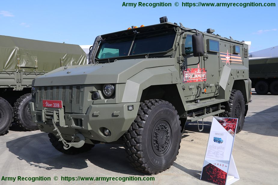 Russian Defense Ministry buys 59 Taiphun Typhoon mine resistant ambush protected vehicles 925 001
