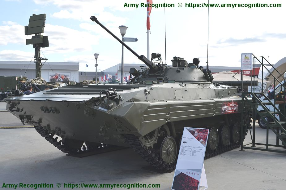 UralVagonZavod UVZ will repair 230 BMP 2 IFVs before 2020 under a contract with the Russian Defense Ministry 925 001
