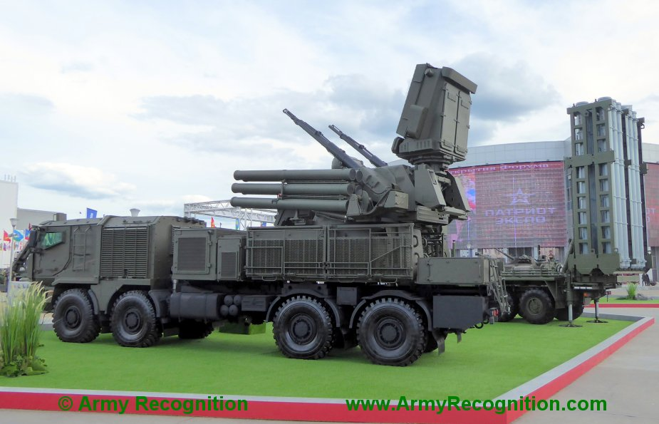 Pantsir-S1 News Thread: #2 - Page 3 Army_2019_KBP_group_publicly_unveils_Pantsir-SM_cannon_missile_air_defense_system
