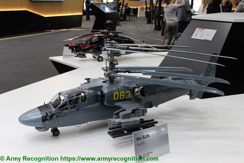 Army 2019 Serial Mi 28NM and modernized Ka 52 helicopters unveiled Ka 52M