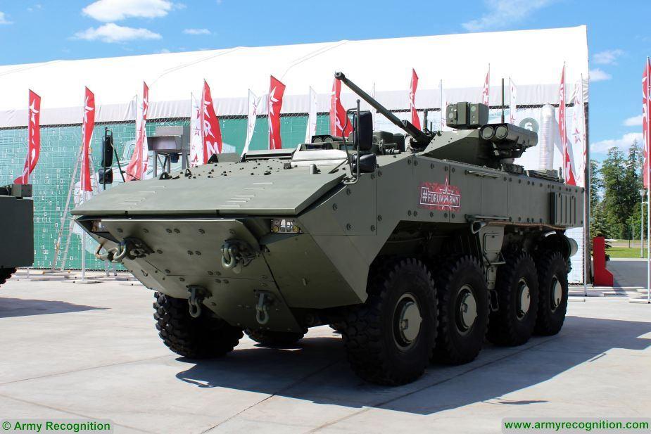army 2019 boomerang k17 to be introduced in 2019 in russian army