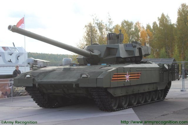 Russia T14 Armata main battle tank makes its public premiere at Russian Arms Expo 2015 640 002