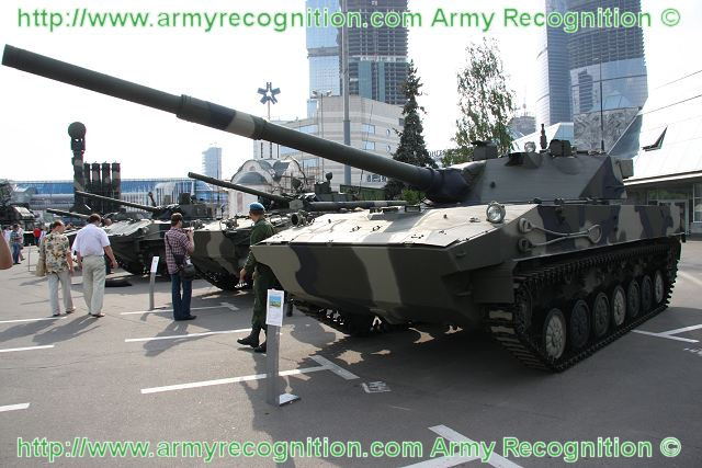 Russian airborne forces will accept for service new state-of-the-art self-propelled artillery guns in 2013, Lt. Gen. Nikolai Ignatov said on Saturday, July 30, 2011.