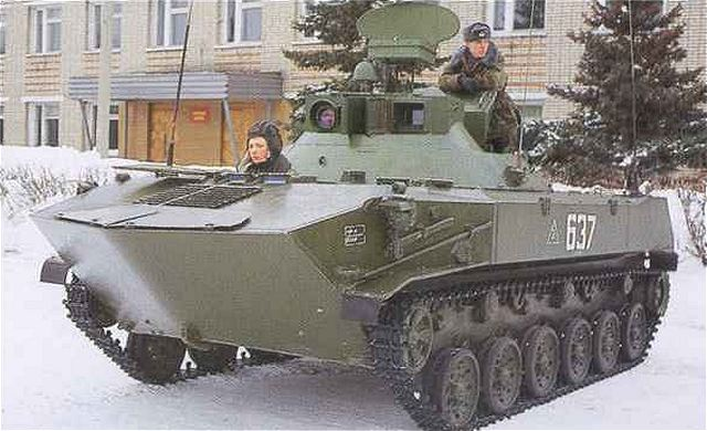 Btr D Airborne Armoured Vehicle Personnel Carrier