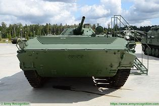 bmp 1 light armoured infantry fighting combat vehicle Russia Russian army defence industry front view 002