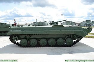 bmp 1 light armoured infantry fighting combat vehicle Russia Russian army defence industry right side view 002