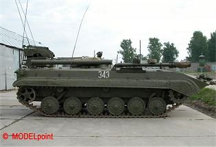 BMP-1KSh command post staff vehicle technical data sheet specifications information description pictures photos images intelligence identification intelligence Russia Russian army defence industry military technology tracked armoured