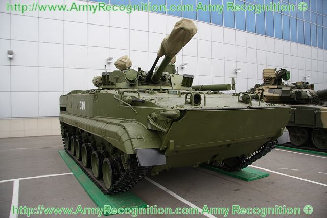 BMP-3 armoured infantry fighting vehicle technical data sheet specifications information intelligence pictures photos images description identification Russian army Russia tracked military combat armoured vehicle
