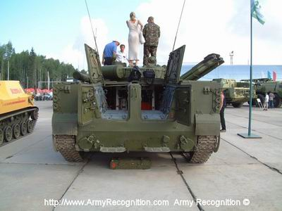 BMP-3 IFV armored infantry fighting vehicle technical data | Russia Russian army light armoured ...