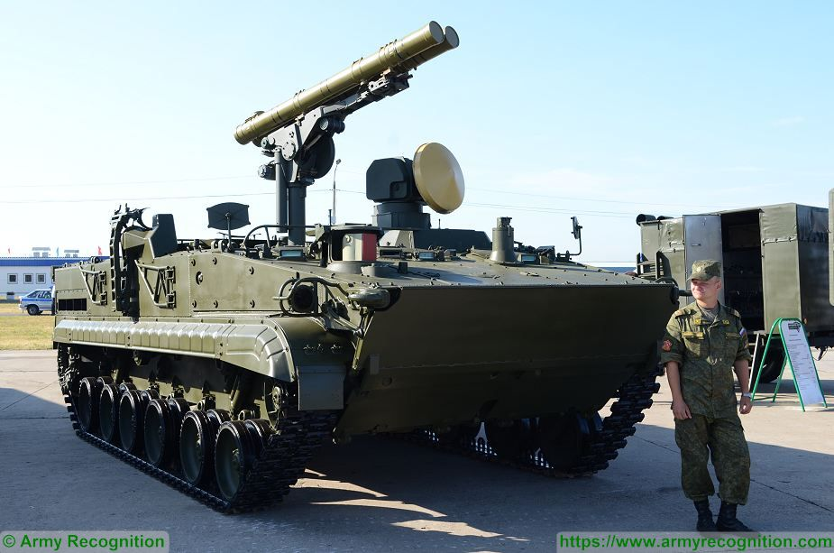 BMP 3 9K123 9P157 2 Khrizantema Khrizantema S anti tank missile armoured vehicle Russia Russian army defence industry 925 001