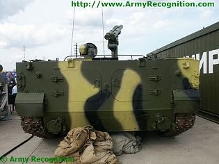 BMP-3 Khrizantema Khrizantema-S 9P157 technical data sheet specifications information description pictures photos images intelligence identification intelligence Russia Russian army defence industry military technology anti-tank missile tracked armoured vehicle