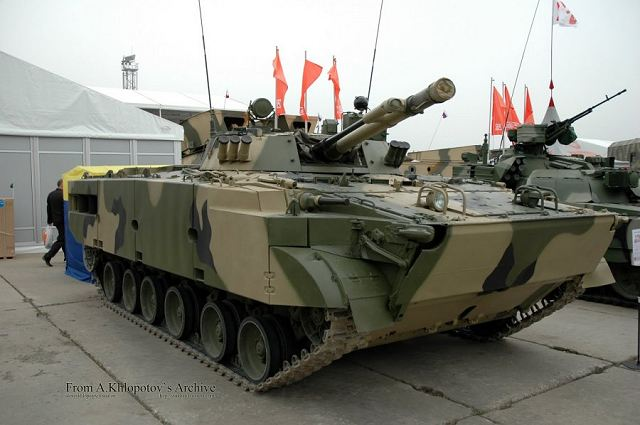 BMP-3M armoured infantry fighting combat vehicle Russian Army Russia defense industry military equipment 640 001